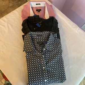 TALBOT'S LOTE of 3 BLOUSE 4P, SP, 2P COMFORT A53